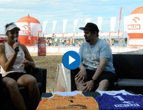 Plaża Open 2020 Białystok – rozmowa zKingą Legietą
